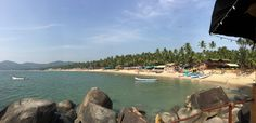 Palolem beach South Goa India