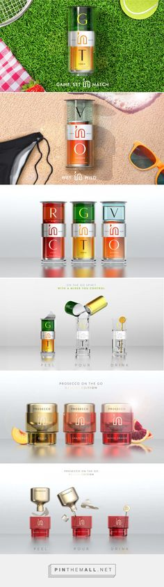 Spirit 'n Mixer cocktails on the go by PB Creative. Source. pb-creative.com. Pin curated by #SFields99 #packaging #design #inspiration #ideas #innovation #structural #alcoholic #beverages