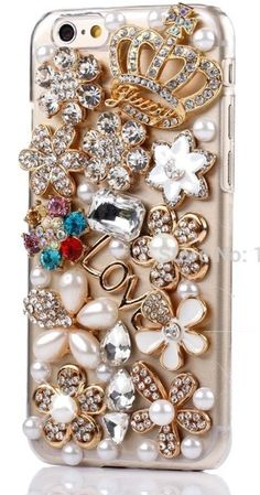 4.49$  Watch more here - Glitter Crystal Rhinestone Fashion Bling Case Cover Clear Hard Phone Shell Protection for Apple iPhone4S 5S 5C 6 6PLUS 7 7PLUS   #aliexpressideas