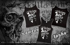 Women's shirts!! www.skullandboneclothing.com