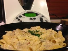 Simply Thermomix Blog: Vegetarian Carbonara- One Bowl Thermomix