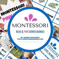 Montessori Early Childhood Language Materials Pack