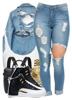 """""""Untitled #915"""" by trinsowavy ❤ liked on Polyvore featuring High Heels Suicide, Helmut Lang, Mulberry and Rolex"""