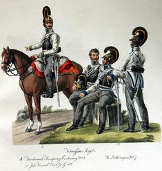Austrian cuirassiers Military Art, Military History, Kingdom Of Bohemia, German Uniforms, Military Uniforms, Kingdom Of Italy, Austrian Empire, Seven Years' War, Imperial Army