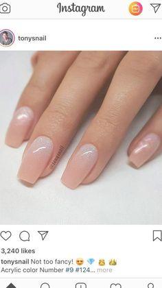 Bridal Nails Designs, Bridal Nail Art, Wedding Nails Design, Nail Art Designs, Simple Wedding Nails, Beige Nails, Luxury Nails, Accent Nails, Nail Arts