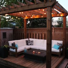 Pergola Paradise - RYOBI National Projects Although historical inside principle, the pergola has been going Backyard Seating, Outdoor Pergola, Backyard Pergola, Garden Seating, Backyard Landscaping, Outdoor Spaces, Modern Pergola, Outdoor Living, Patio Ideas With Pergola
