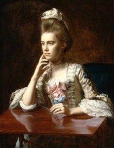 John Singleton Copley, portrait of Dorothy Wendell (Mrs. Richard Skinner), 1772