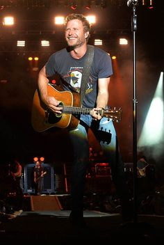 Dierks Bentley- I've worked with him once before and can only dream of it again in the future. Hard work for where you want to end up!