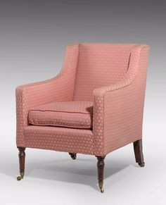 Regency Period Mahogany Framed Armchair