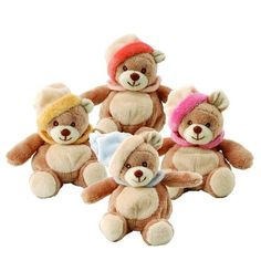 Viggo Bean Bags are cute and soft little #Teddy #Bears for babies  (can be hung on the bed or the stroller). - $18.99 #beanbag #toy #forbaby