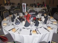 James Bond themed party in the Vere Suite