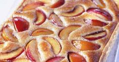 This peach and almond tart is a little effort to make, but the results are delicious, with a light hazelnut and almond frangipane holding the poached peach slices. You can skip the pastry making part of this recipe if you like and use a ready-made sweet pastry.