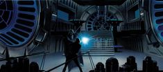 Les illustrations originales du storyboard de Star Wars