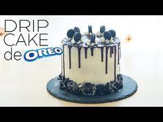 Drip Cake de Oreo | La Cocina de Broumery - YouTube Bolo Drip Cake, Drip Cakes, Chocolate, Cake Designs, Frosting, Food Porn, Food And Drink, Birthday Cake, Fancy