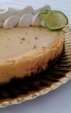 Lime & Oreo Pie