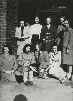 Lois Andrews Cleland, class of '47. Passed away on December 31, 2015 at the age of 89. Featured here with Elizabeth Abbot, Nancy Lu Alexander, Janet Amilon, Elizabeth Anderson, Virginia Barba,  Martha Ann Apple, Patricia Armes, and Ernestine Banker. http://www.wvgazettemail.com/OBIT/20160105/lois-andrews-cleland