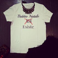 Tshirt Babbo Natale non ESISTE #JOON