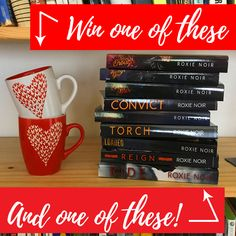 Win a heart mug and a signed paperback!