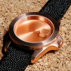 """Infinity Piece is a wristwatch with no movement, created by Levi Maestro to serve as a reminder that """"you can never spend too much time on the things you're passionate about""""."""