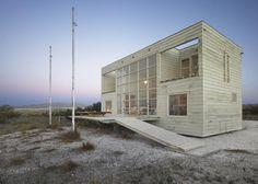 Beach house by Mathias Klotz in Tongoy, Chile.