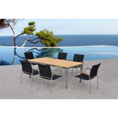 Salon de jardin en aluminium Set Lounge SARTENE Royal Grey 249 ...