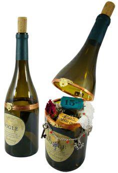 Wine bottle keep sake