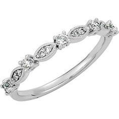 14KW diamond ring, 1/5cttw. Find it at a jeweler near you: www.stuller.com/locateajeweler #AffordableSparkle