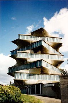 El desaparecido edificio Pagoda de Miguel Fisac en Madrid