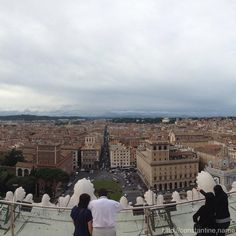 Piazza Venezzia - http://constantine.name/piazza-venezzia/ - The view from on top…