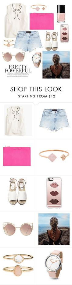 """""""#36#"""" by dashabileski ❤ liked on Polyvore featuring J.Crew, Alexander Wang, Givenchy, Chanel, Michael Kors, Casetify, MANGO and Accessorize"""