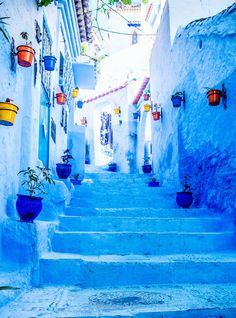 This Is How Much It Will Cost You To Visit Morocco's Blue City http://r29.co/2w3fXe7