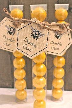 Baby Shower Party Favors Girl Wedding Favours 52 New Ideas Mommy To Bee, Boy First Birthday, Boy Birthday Parties, Birthday Ideas, Birthday Gifts, Bee Party Favors, Bumble Bee Birthday, Bee Gender Reveal, Little Presents