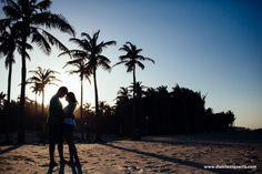 casal, praia