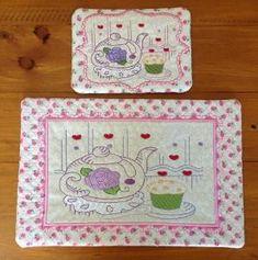 P094_ITH Teatime Mug rug and Kitchen mat No 2