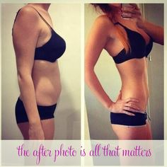 The after photo is all that matters  | 6 Workout Motivation Tricks