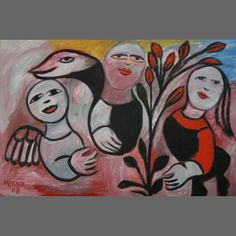William Mora Galleries is one of Australia's leading commercial galleries, exhibiting outstanding contemporary art from established and emerging indigenous and non-indigenous artists. Contemporary Decorative Art, Naive Art, Australian Artists, Flower Art, Folk Art, Misfits, My Favorite Things, Gallery, Flowers