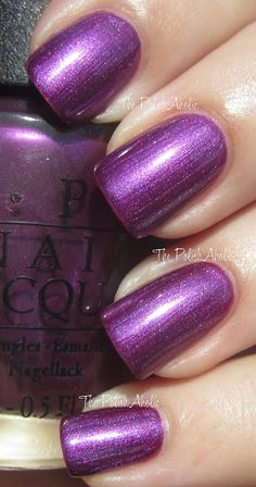 OPI Fall 2012 Germany Collection  Suzi And The 7 Dusseldorfs
