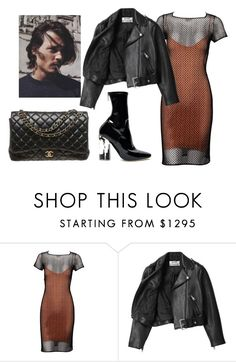 """""""night out w babe"""" by artiola-fejza ❤ liked on Polyvore featuring Alaïa, Acne Studios and Chanel"""