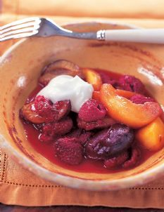 Barefoot Contessa - Recipes - Oven-Roasted Fruit