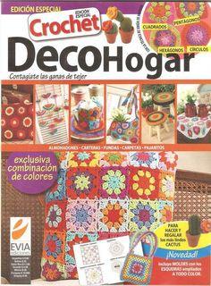 Revista #34: Crochet - DecoHogar ~ CTejidas [Crochet y Dos Agujas]