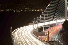 First nights drive on the New Bay Bridge
