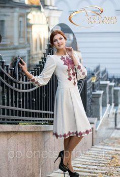 Плаття вишиті, фото 1