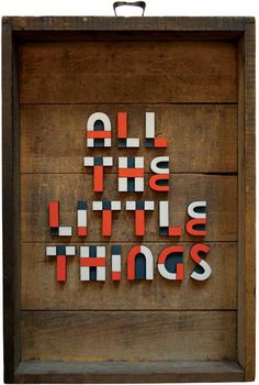 Wicked Typography Inspiration   From up North