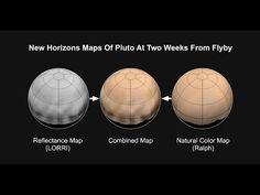 Por fin se ha descubierto el color real de Plutón