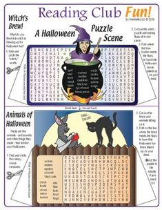 Halloween Vocabulary Spooky Cut-Out & Stand Up Scene Word Search Puzzles) Halloween Word Search, Halloween Puzzles, Halloween Words, Halloween Scene, Spooky Halloween, Halloween 2019, Happy Halloween, Halloween Party, Halloween Vocabulary