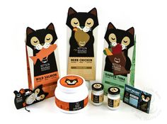 Kitty's Kitchen Cat Food Line on Packaging Design Served