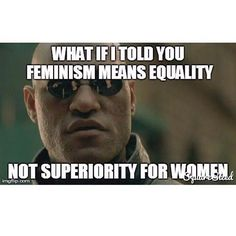 The definition of feminism, although defines the advocacy of women's rights on the grounds of equality, is still a movement. Movements are meant to be judged by actions. Due to feminism not having a uniform of thoughts, opinions, wants, needs and values the women or men who call themselves feminists will be judged individually by their actions and words.  NOT by what they call themselves.