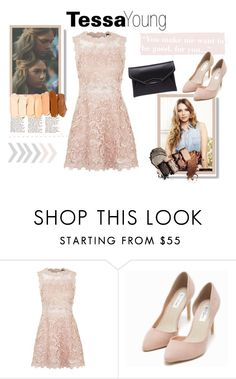 """""""Tessa Young- after book"""" by gglamgirl ❤ liked on Polyvore featuring Topshop, Nly Shoes, Givenchy, women's clothing, women, female, woman, misses and juniors"""