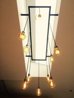 Extreem De 14 beste afbeelding van lichtstraat met lamp/verlichting YP84