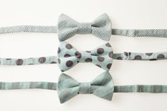 Toddler Bow Tie  Blue and Brown  Choose One  by littlegentleman, $15.00